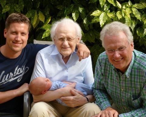 4 gerações da mesma família