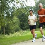 Atividade física ajuda a evitar problemas de circulação.