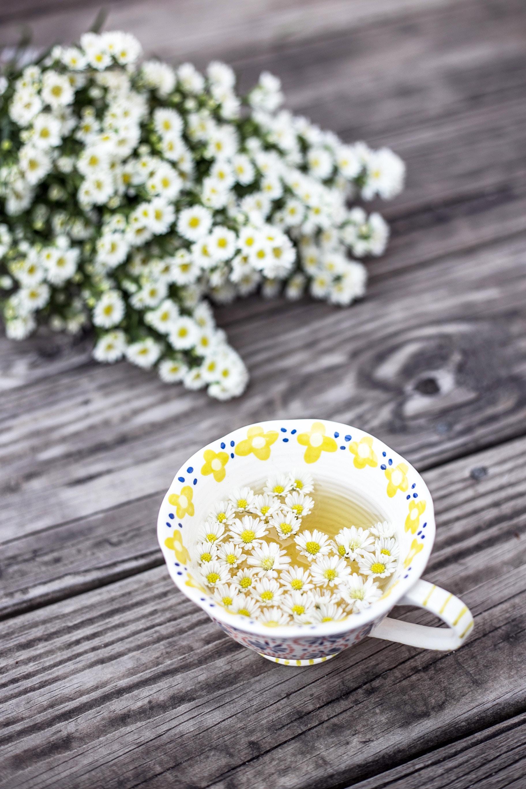 Chá para dar sono no idoso