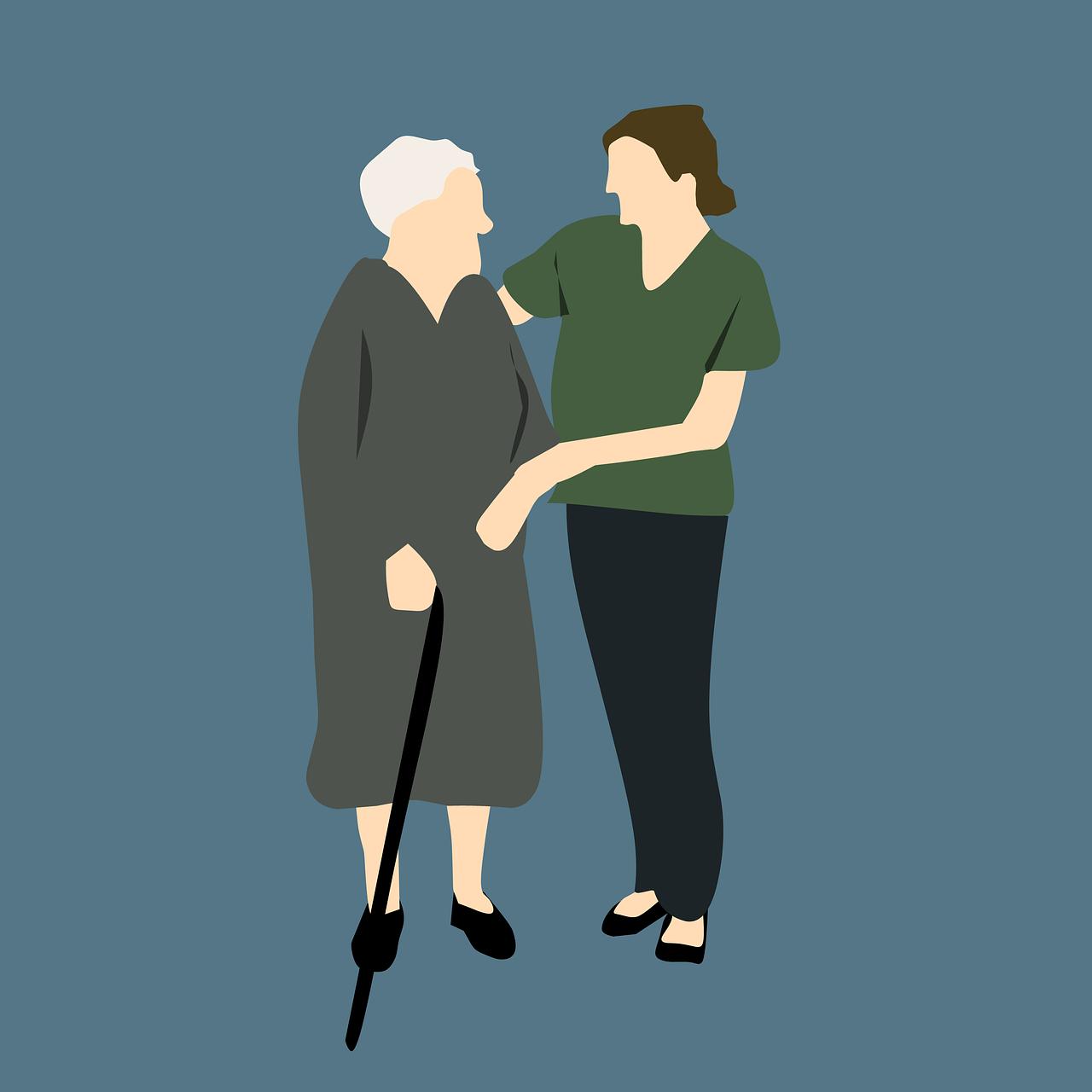 idoso com DA sob Terapia Comportamental