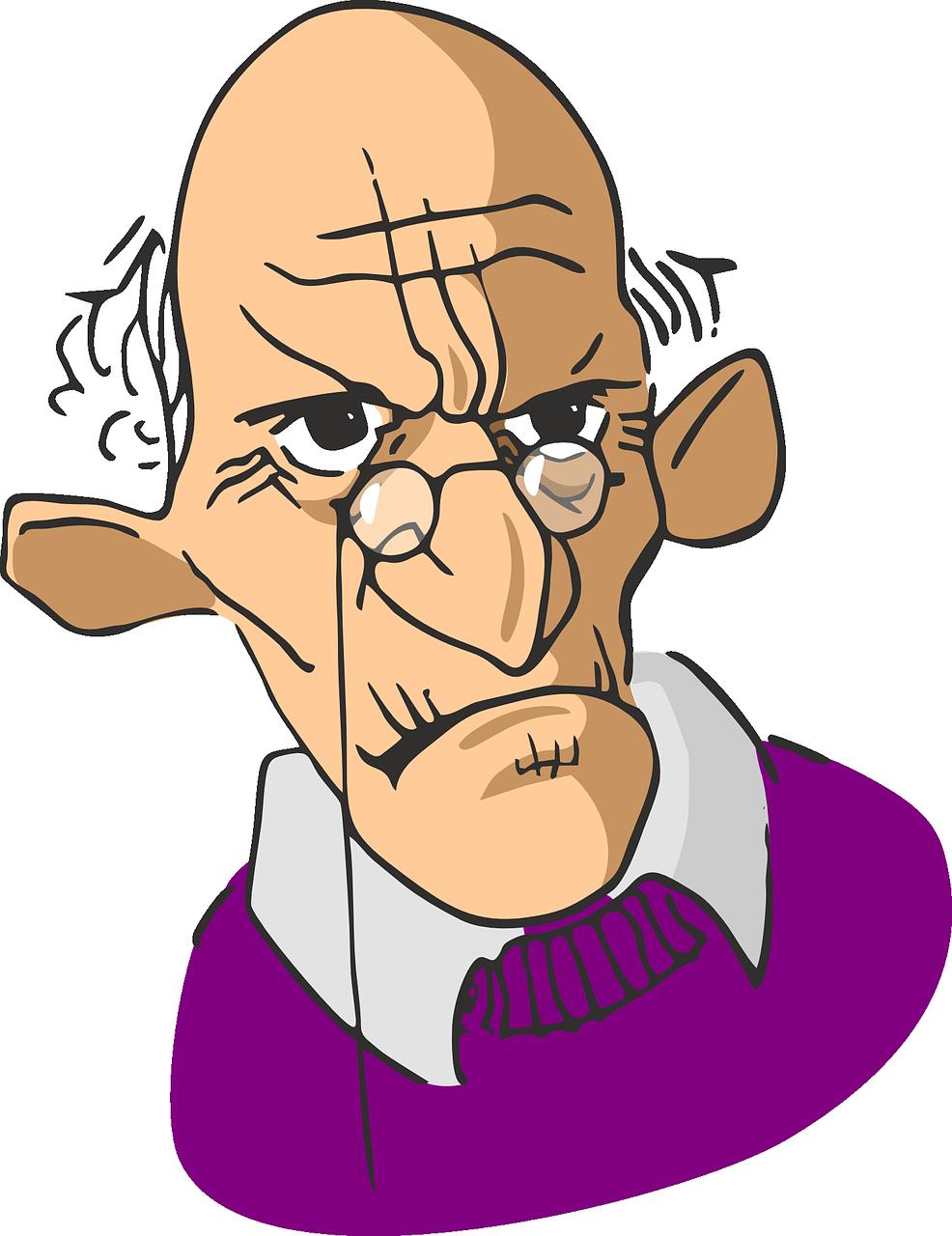 idoso com demência e comportamento agressivo