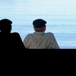idoso com Alzheimer e delírios