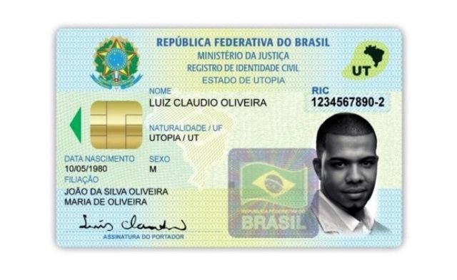 Nova Cédula de Identidade